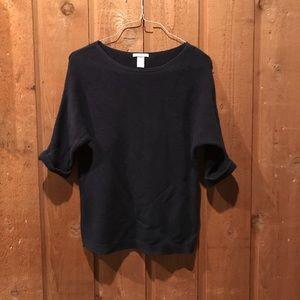 Navy H&M Basic Sweater